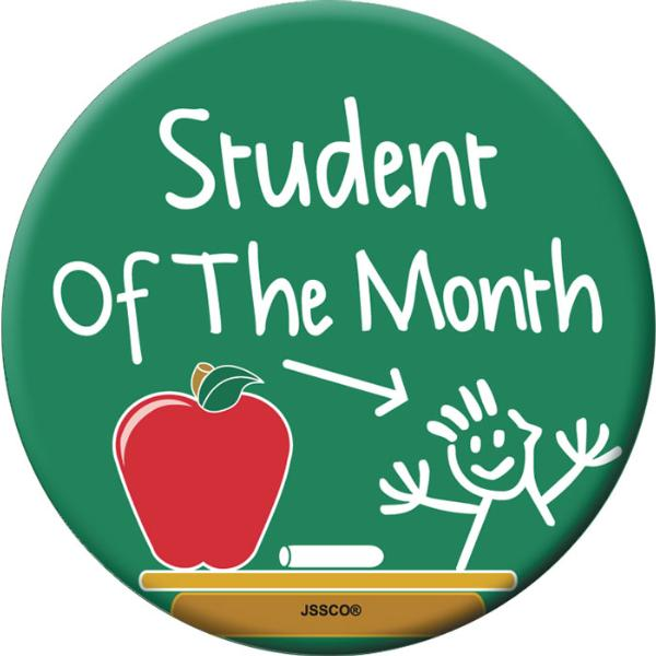 STUDENT OF THE MONTH - Monday, October 7th